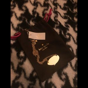 NWT Kate Spade quote bubble necklace!